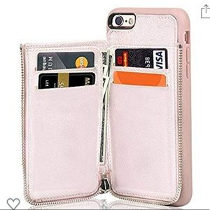 iPhone 7/8 zip around wallet case